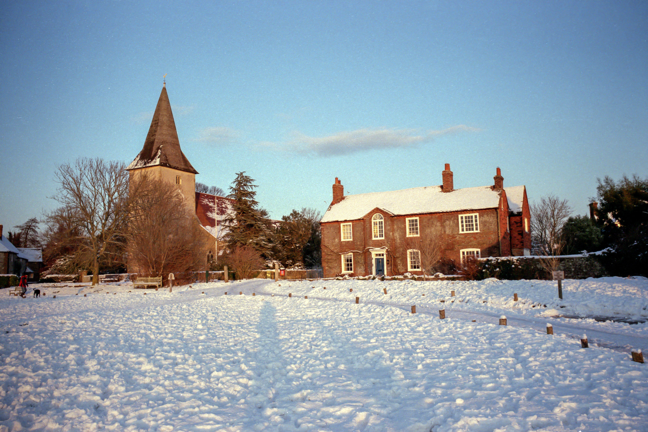 The church from Quay Meadow -