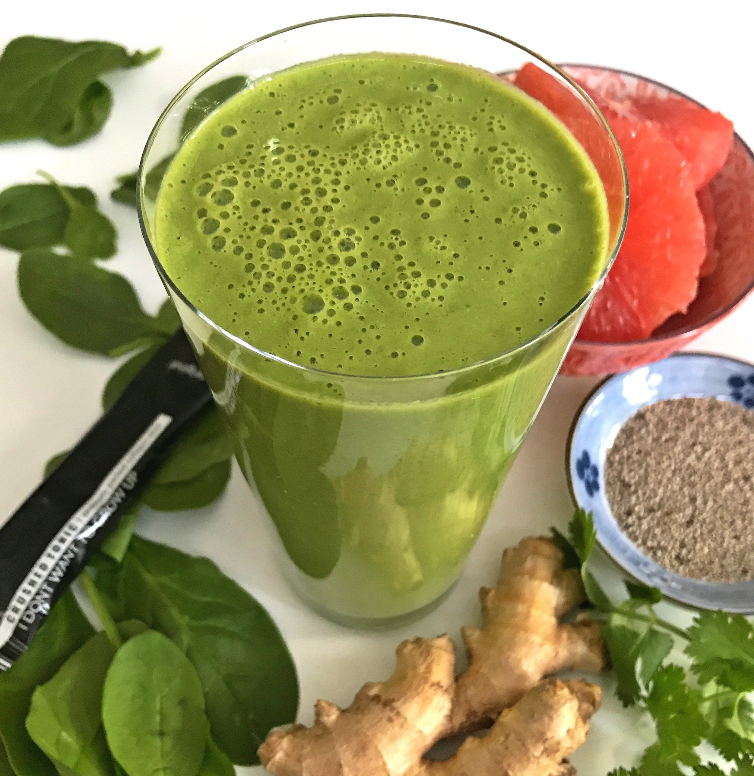 KEFIR GRAPEFRUIT CILANTRO SPINACH GINGER SMOOTHIE.jpg
