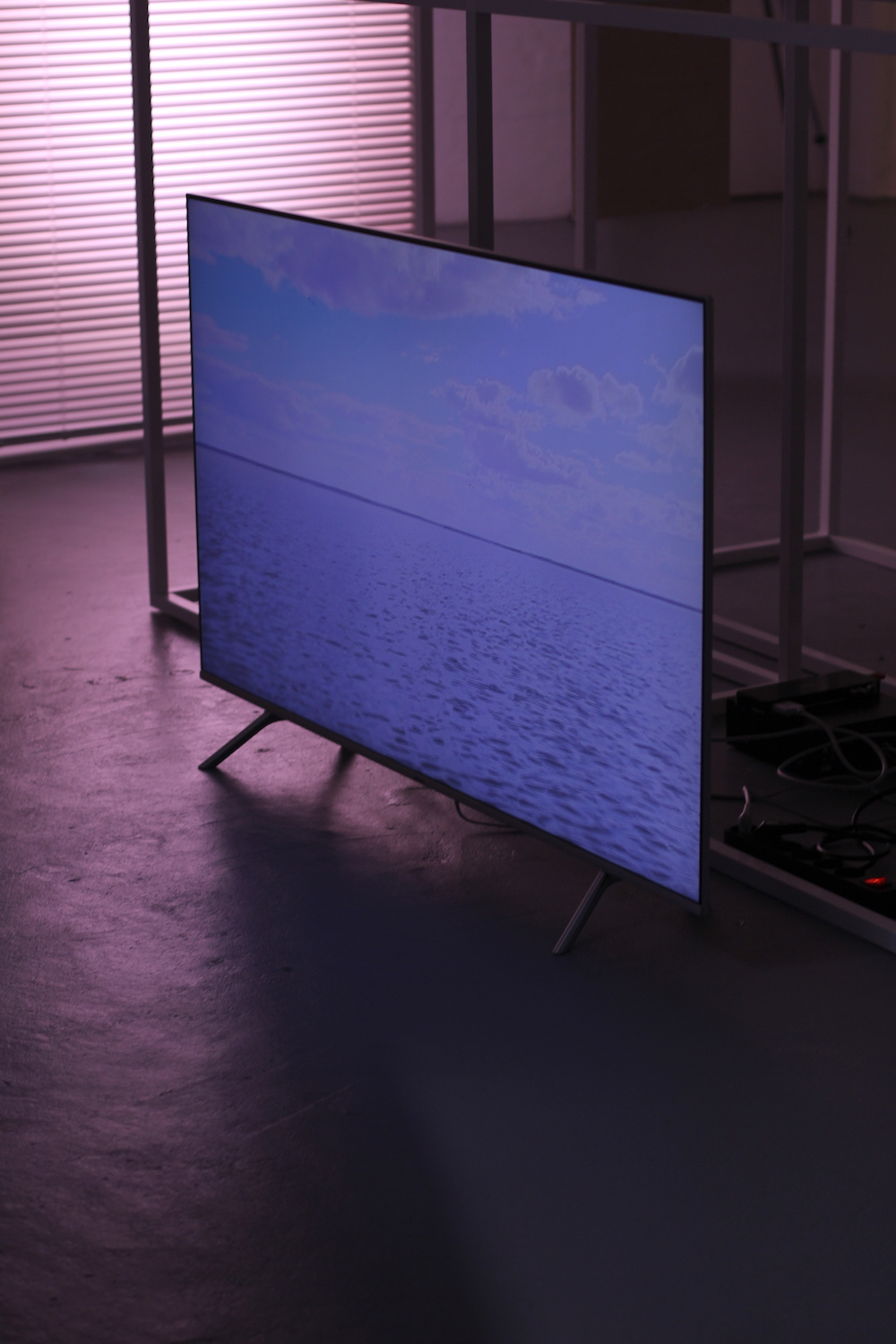 - Robyn Stuart, Breathing Room, 2012,Digital video of Kati Thanda–Lake Eyre, (1 of 4 channels)