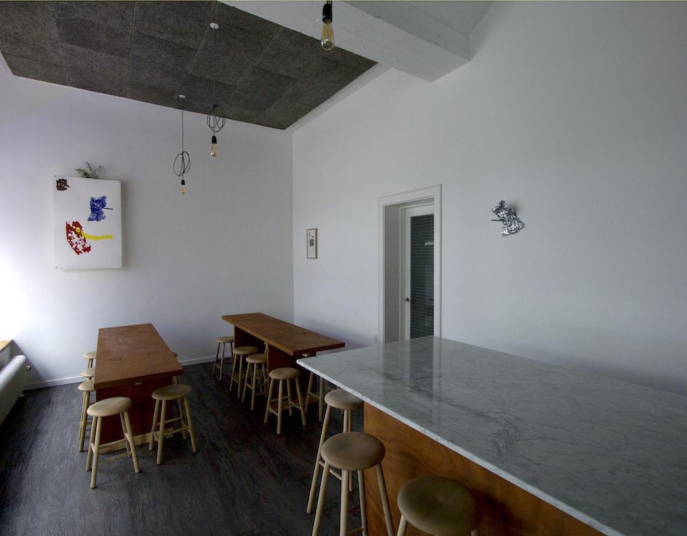 - installation, upstairs