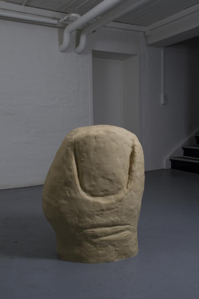 - Big ToeMarzipan, plaster, foam