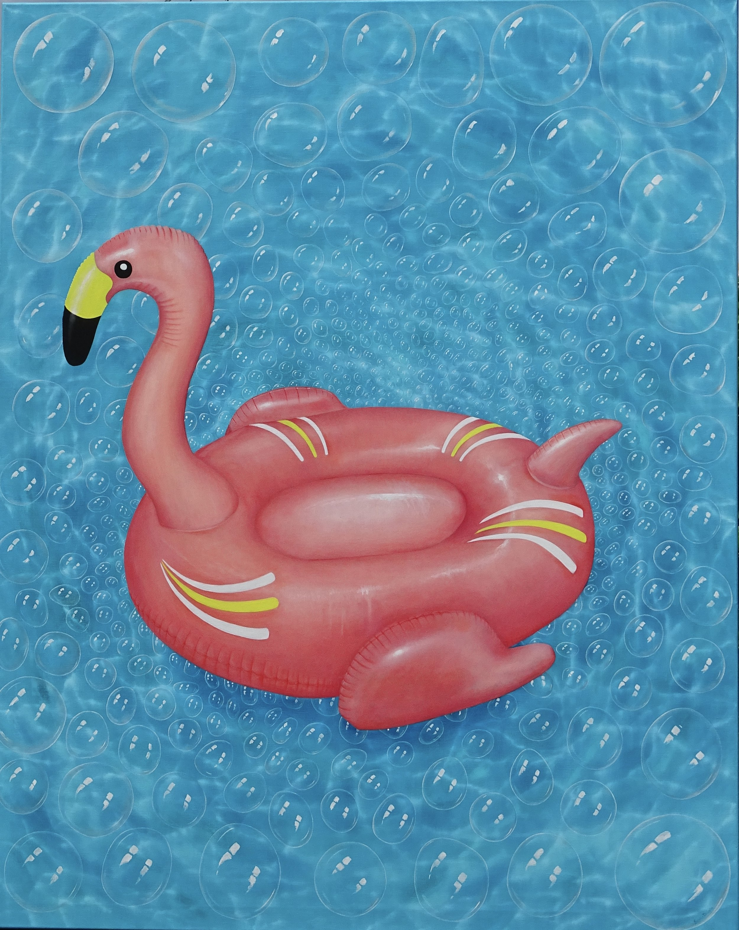 "OH POOL TOY- Flamingo 48""x60"""