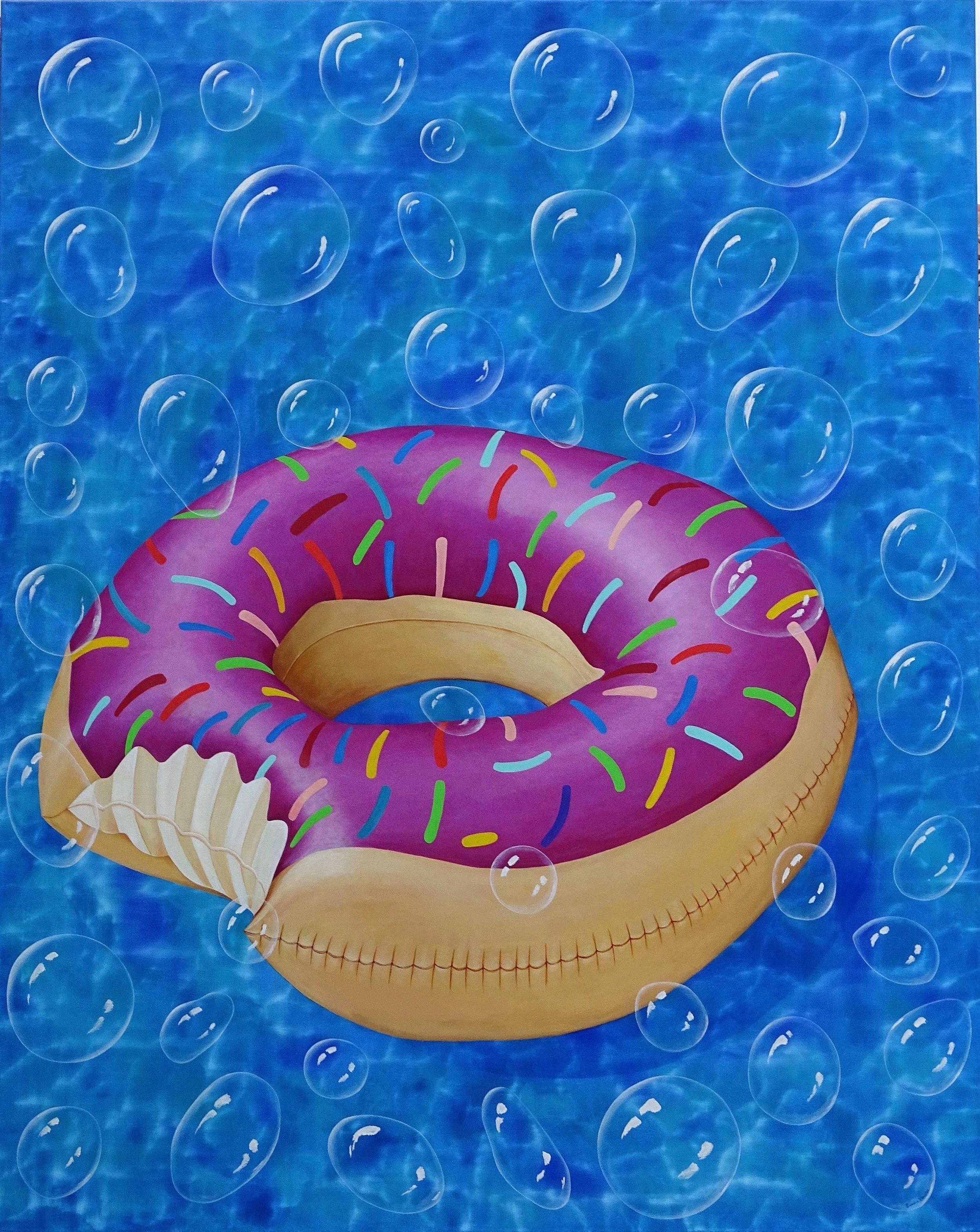 "OH POOL TOY - Donut 48""x60"""