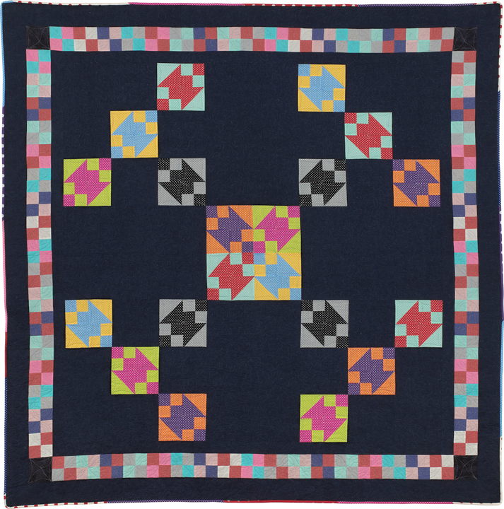 "KayLynn Designs Blog - Modern Quilts from Traditional Blocks - ""X Marks the Spot"" by Kathryn Greenwold. Pattern Available in the KayLynn Designs Shop"
