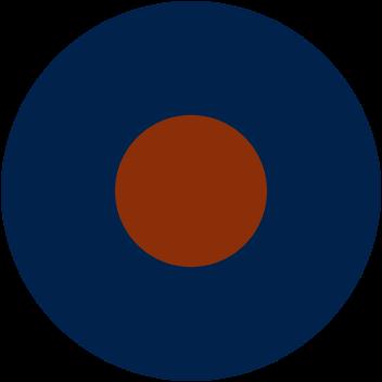 Da bomb: the author's preferred RAF roundel.