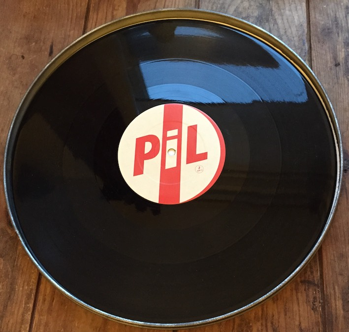 Shiny, shiny: it looks like you could dive into this pool of perfect vinyl.