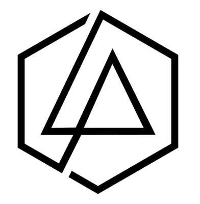 The former Linkin Park logo forms a complete hexagon.