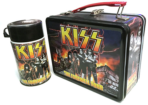 Out to lunch: there's still a huge appetite for KISS merch.