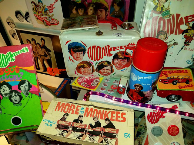 Monkee business: the band's merchandising machine was impressive ... anything that moved was fair game for Monkee branding.
