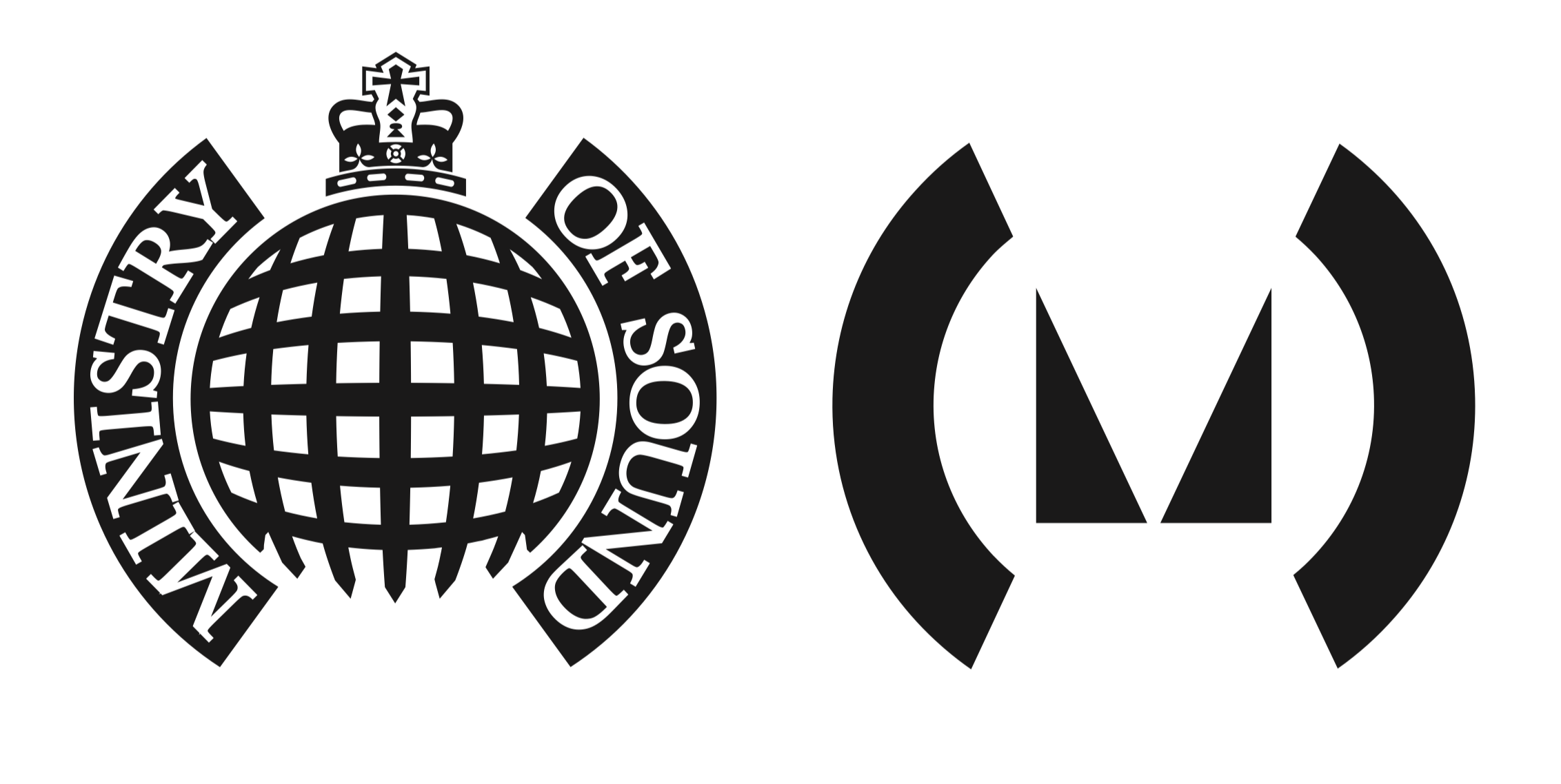 A new spin: Spin's version of the original logo is used for heritage products, events, and recordings. The radical new logo is used for club and related activity.