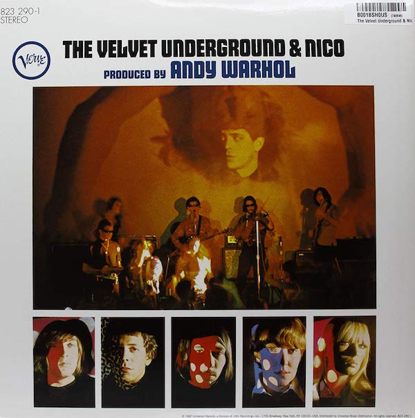 About face: Eric Emerson's law suit saw 'The Velvet Underground & Nico' being temporarily removed from the shelves. A black sticker was later placed over the offending part of the image, but by then, the album had lost its momentum.