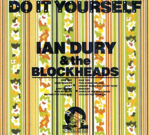 """Paper roses: The Bubbles-designed cover for the album 'Do It Yourself' came in 20-plus versions featuring different Crown wallpapers. Brilliant but expensive. """"He was so good I couldn't have really competed with him,"""" said Sir Peter Blake, who also designed sleeves for Ian Dury & The Blockheads."""