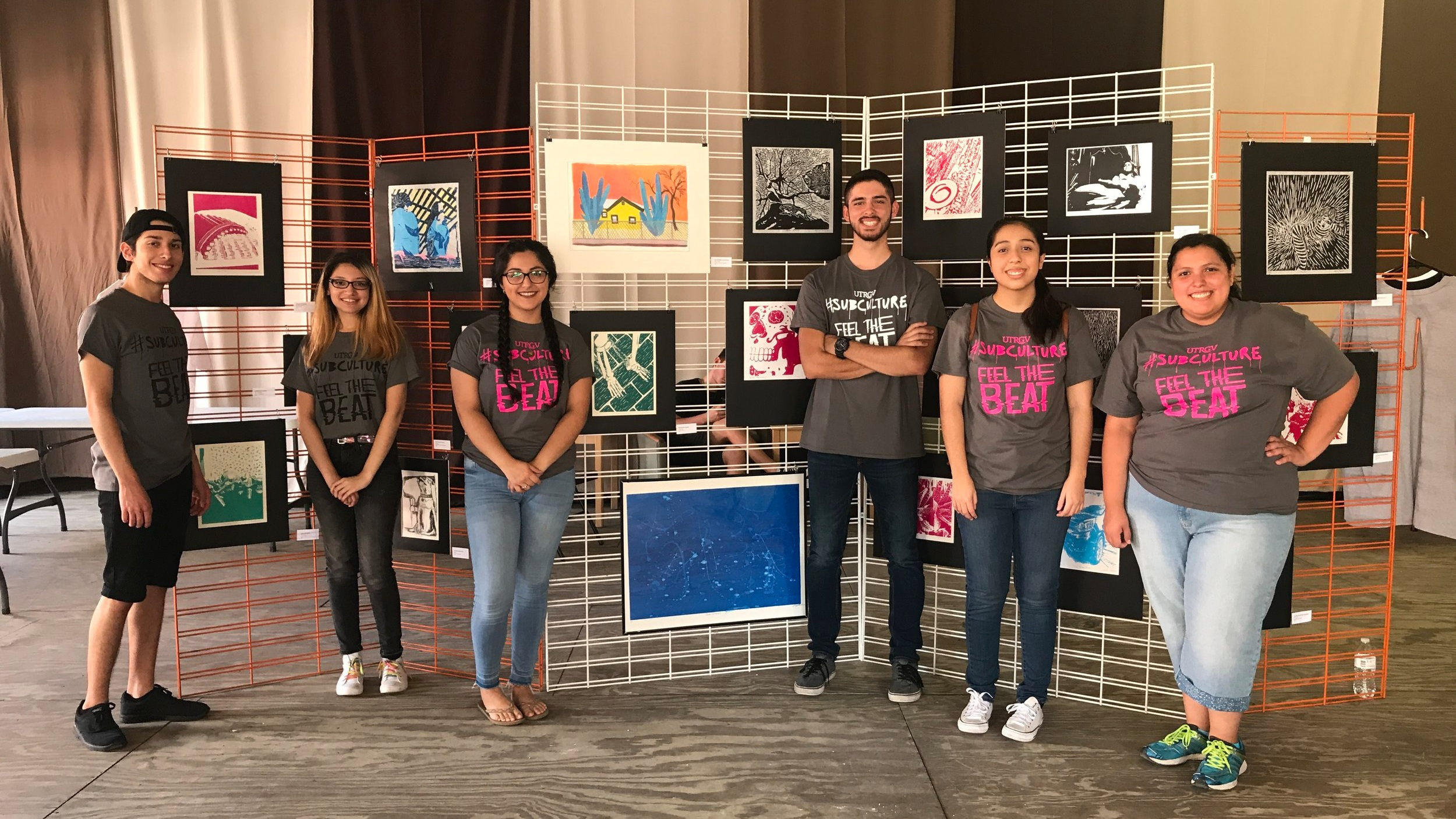 Graphic Design Students at Art Show .jpg