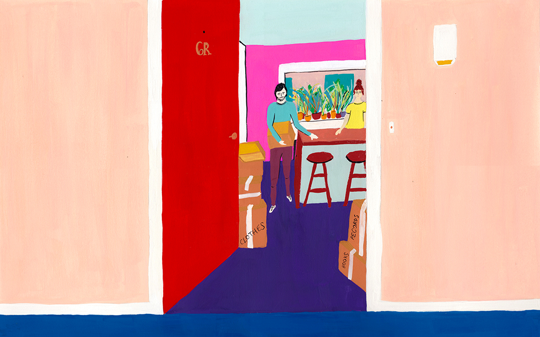Couple Moving Breakup Gouache Painting.jpg