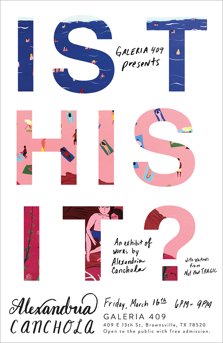 is this it? Exhibition poster design