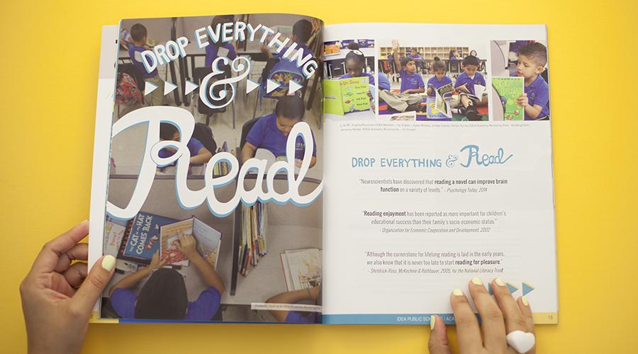 impact magazine editorial Design