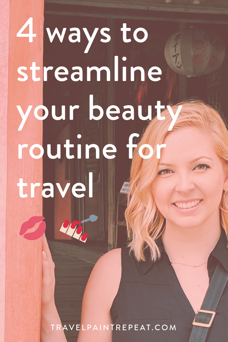 4 ways to streamline your beauty routine for travel