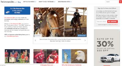 Veterans Blog Example