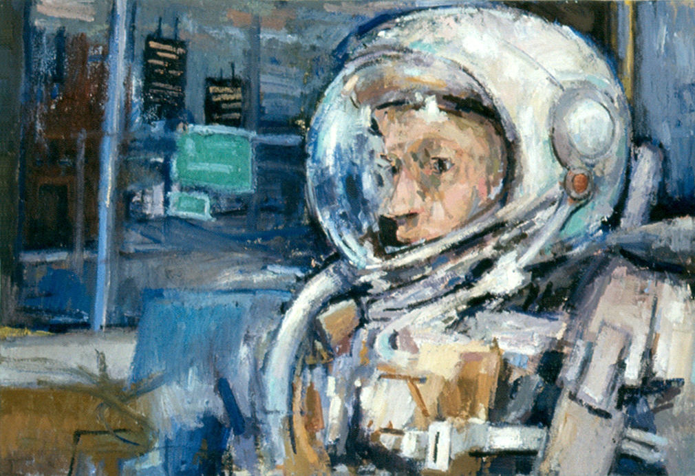 Astronaut On The Bus