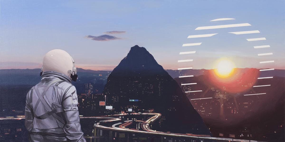 Sun Sets On The City