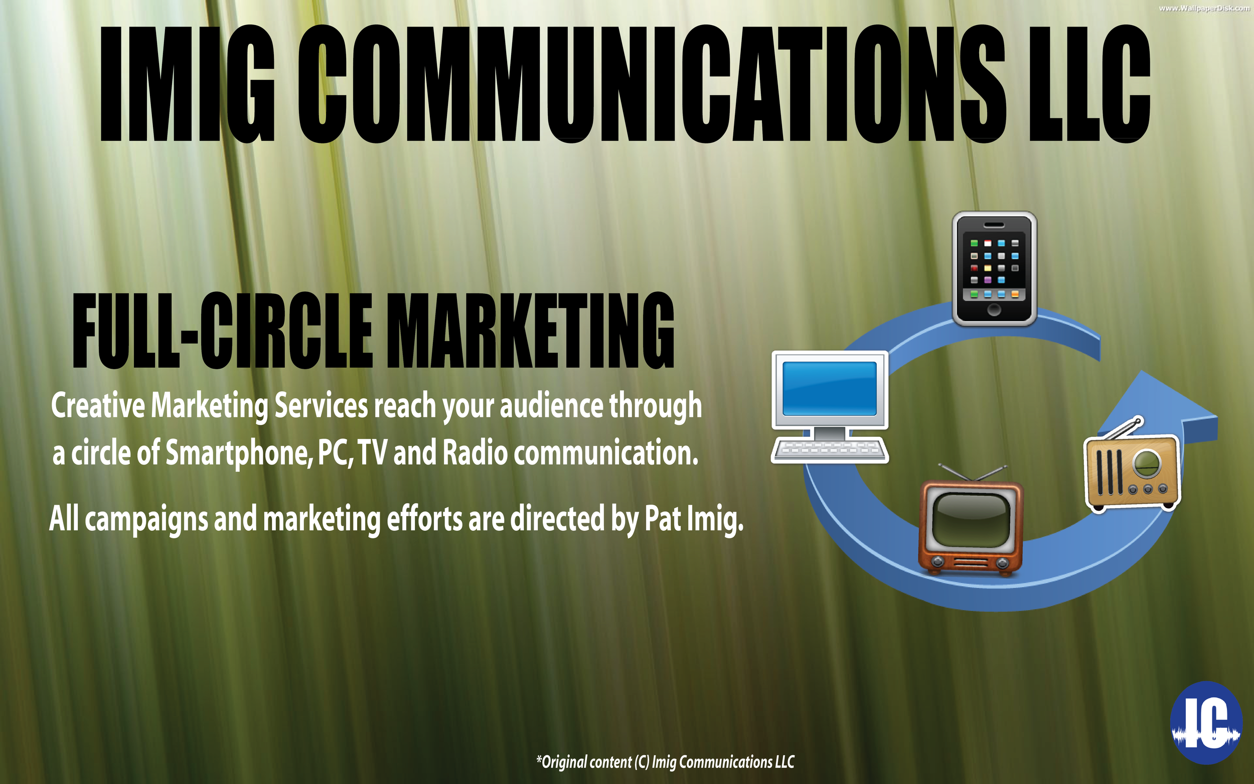 Imig Communications Full Circle Marketing