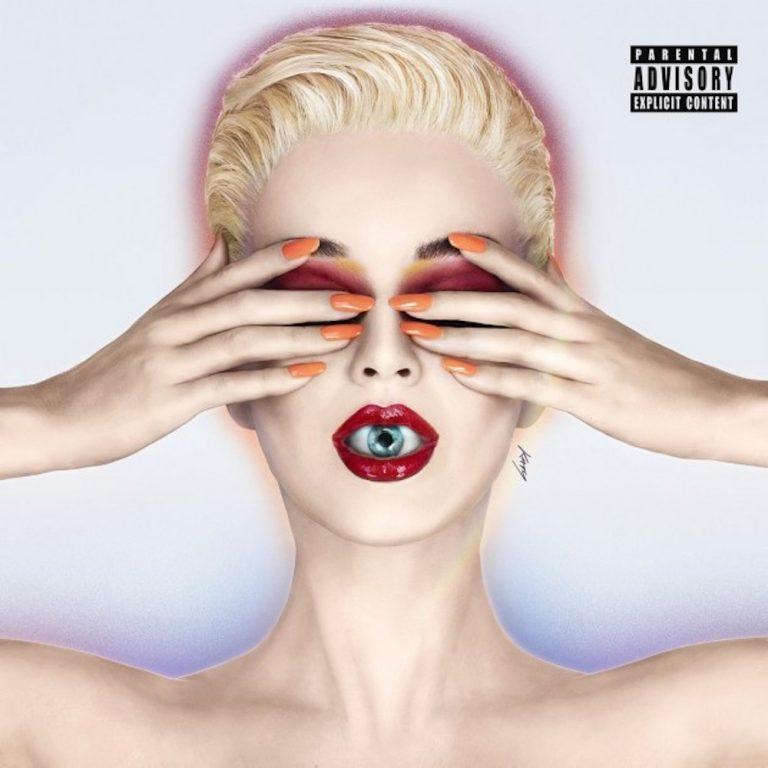 Katy Perry's Witness; 2017 Album Cover