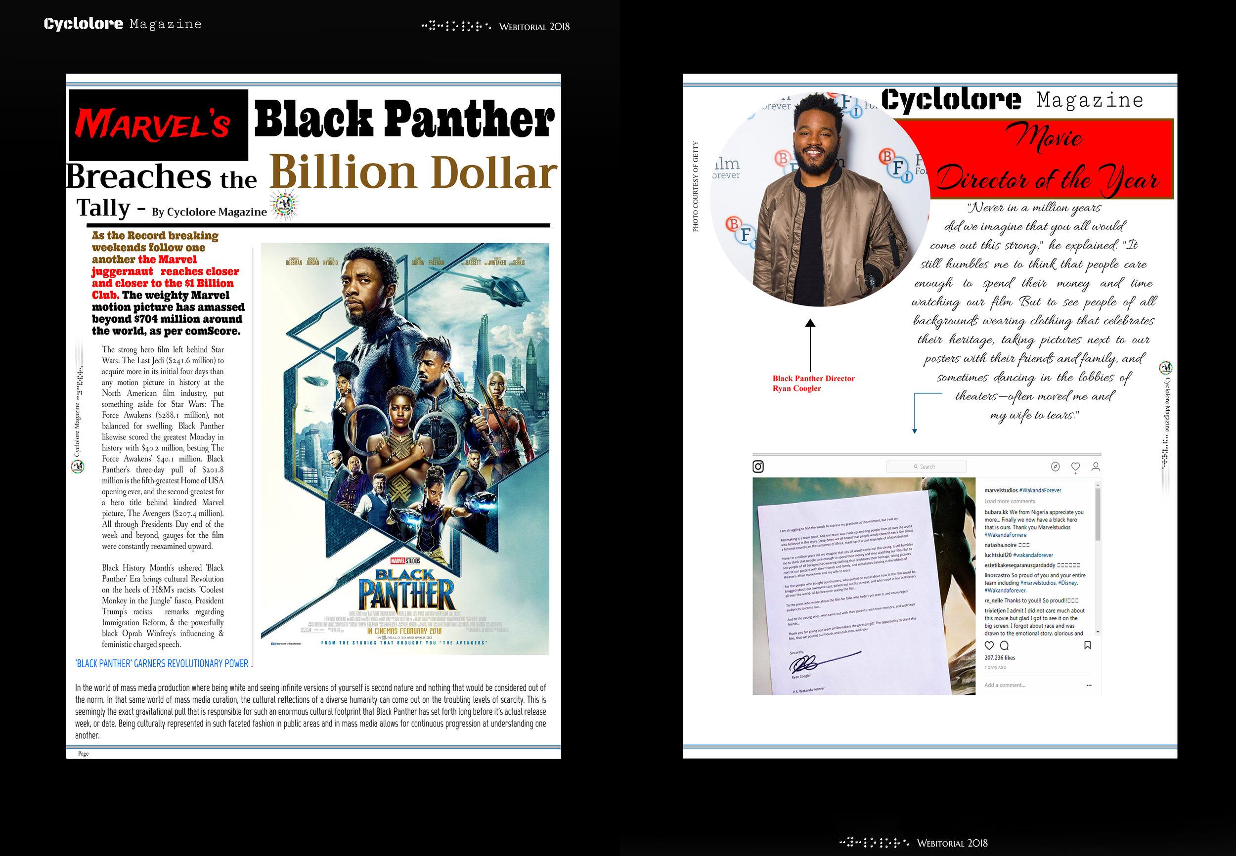 Black Panther Webitorial