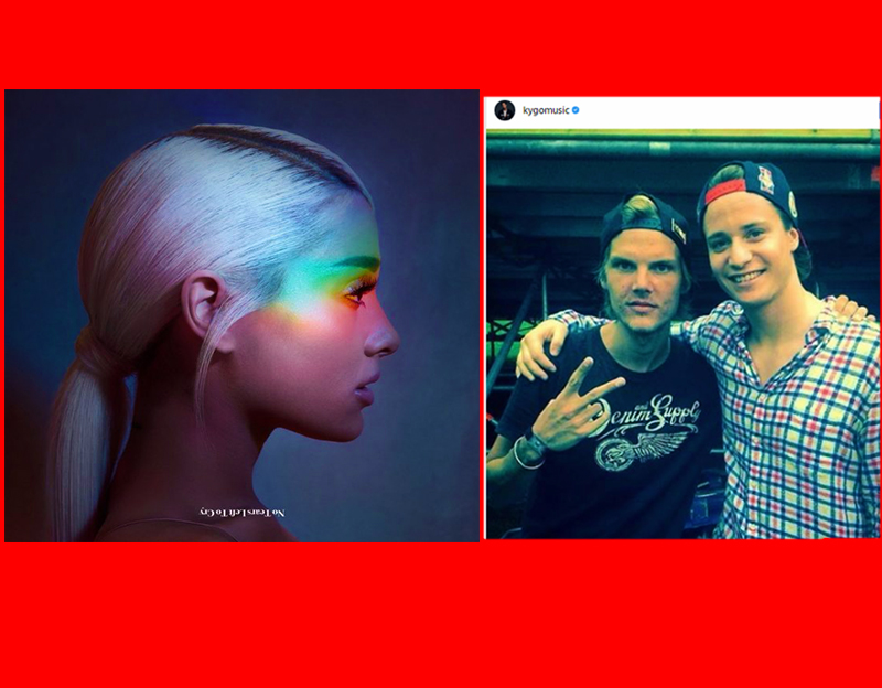 Ariana Performs NTLC for the first time at Coachella as Kygo honors Avicii's recent Passing