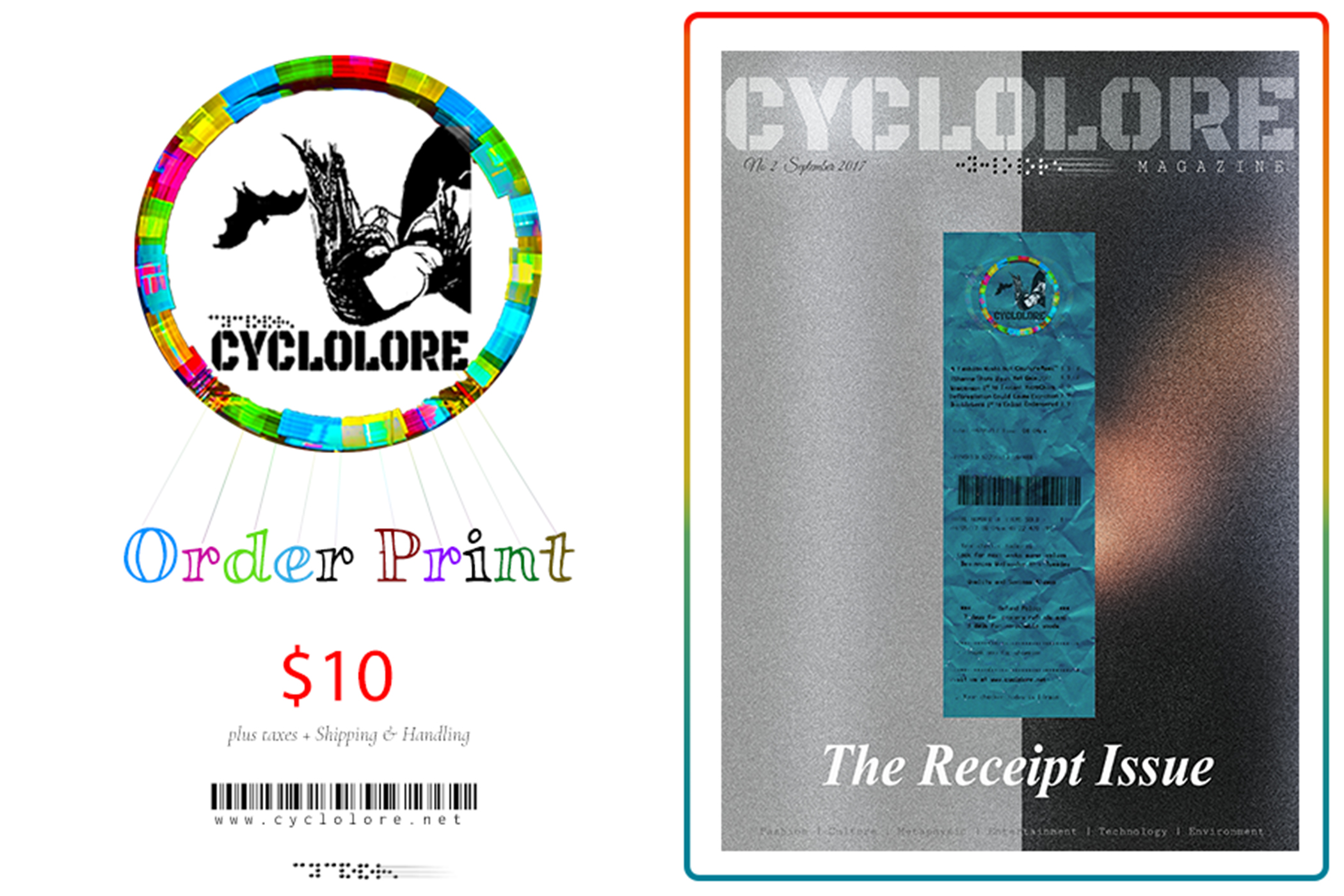 Order your Print  Cyclolore Magazine!
