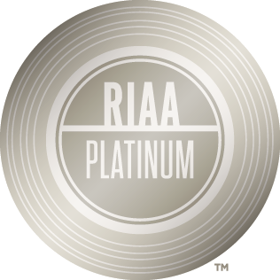 All ©Copyrights Reserved to  RIAA Gold & Platinum