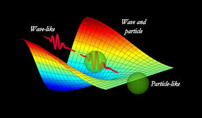 This outline demonstrates the double idea of light, which acts like the two particles and waves. Credit: S. Tanzilli, CNRS