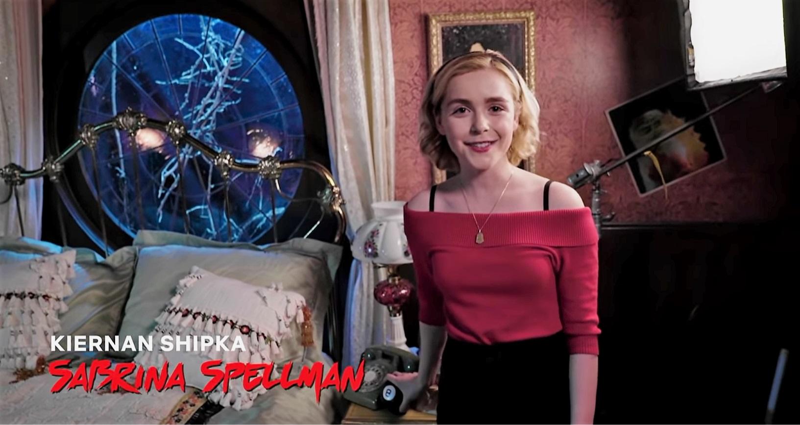 Netflix's All Access Studio Tour - Sabrina