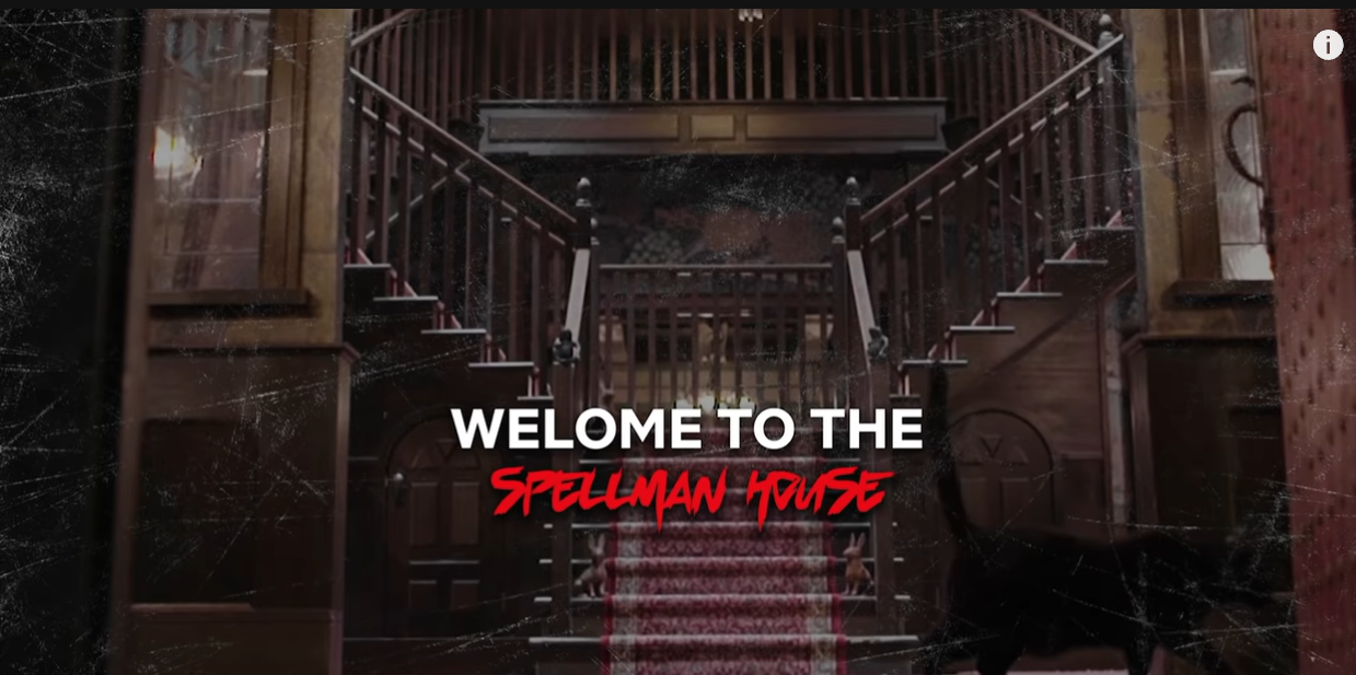 Netflix's All Access Studio Tour of The Chilling Adventures of Sabrina