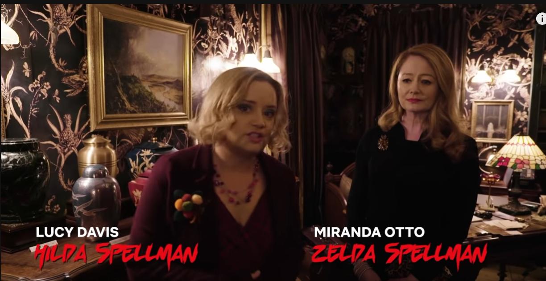 Netflix's All Access Studio Tour - Sabrina's Aunties
