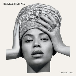 Beyonce's Homecoming Live Album Cover/  Parkwood Entertainment
