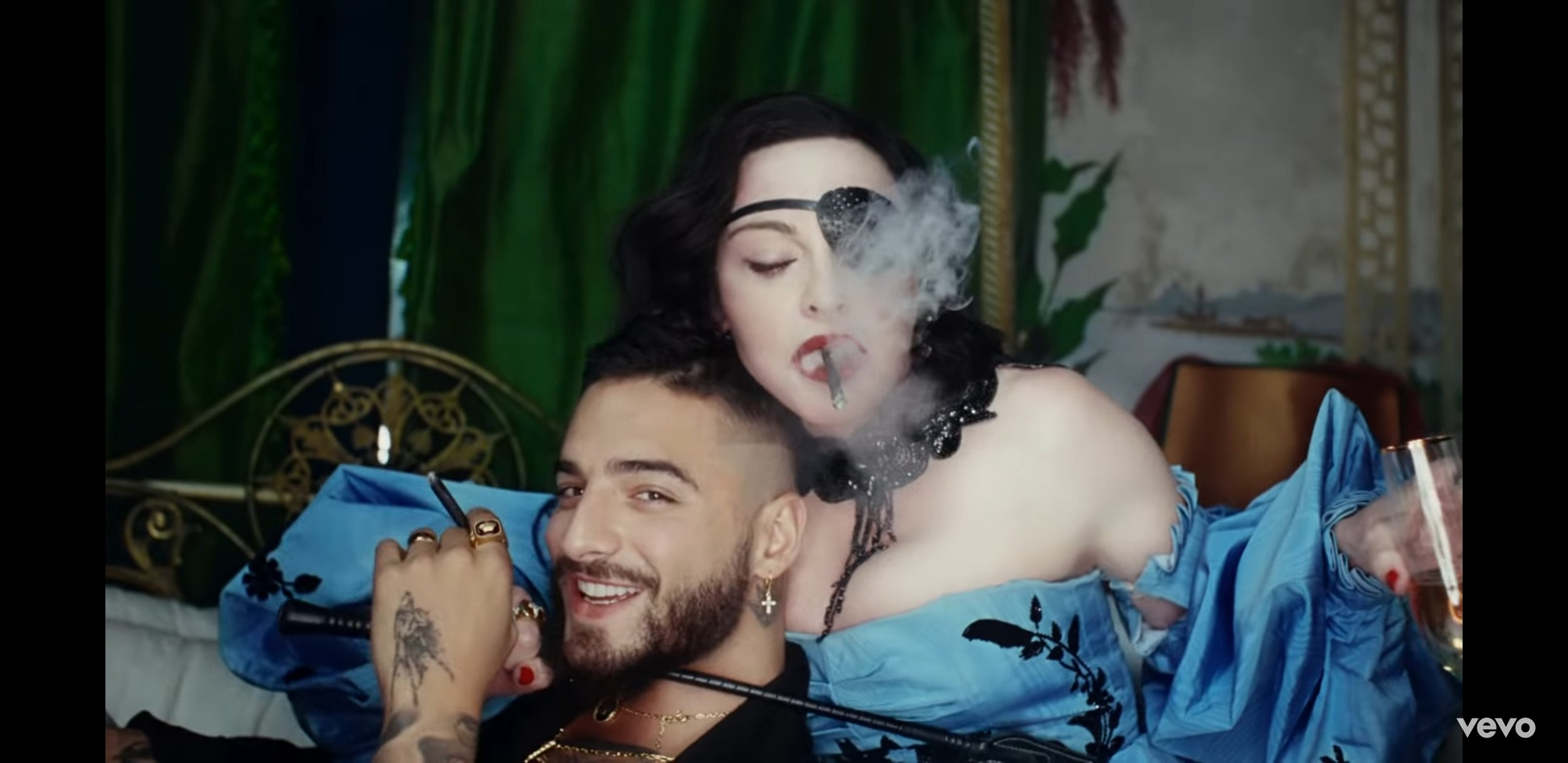 Maluma & Madonna in 'Medellín' Music Video/ YouTube