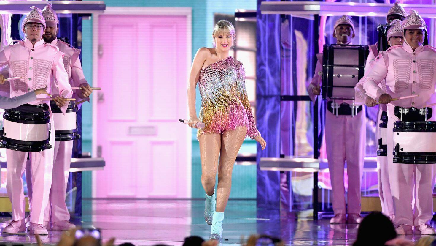 (Ethan Miller/Getty Images) / Taylor Swift's Execution of ME! onstage at the 2019 Billboard Music Awards in Las Vegas.