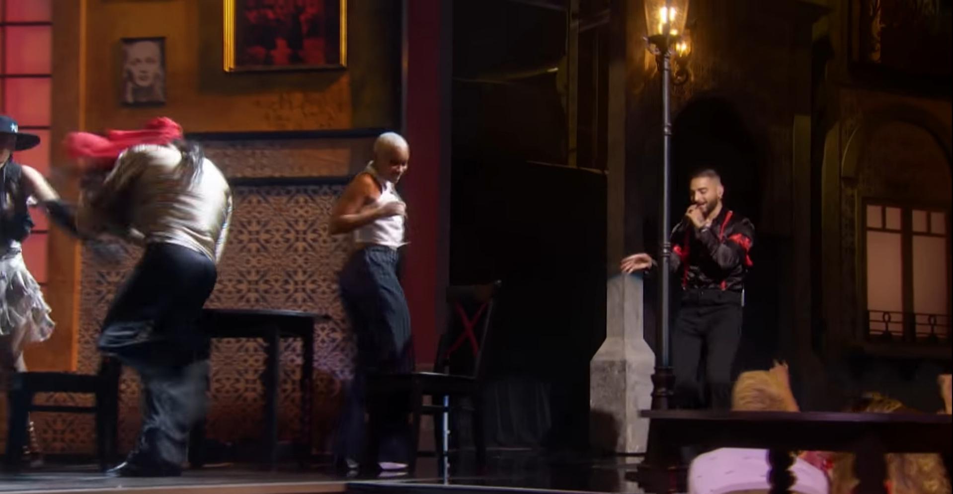 Courtesy of Vevo / Maluma performing  'Medellín' ..