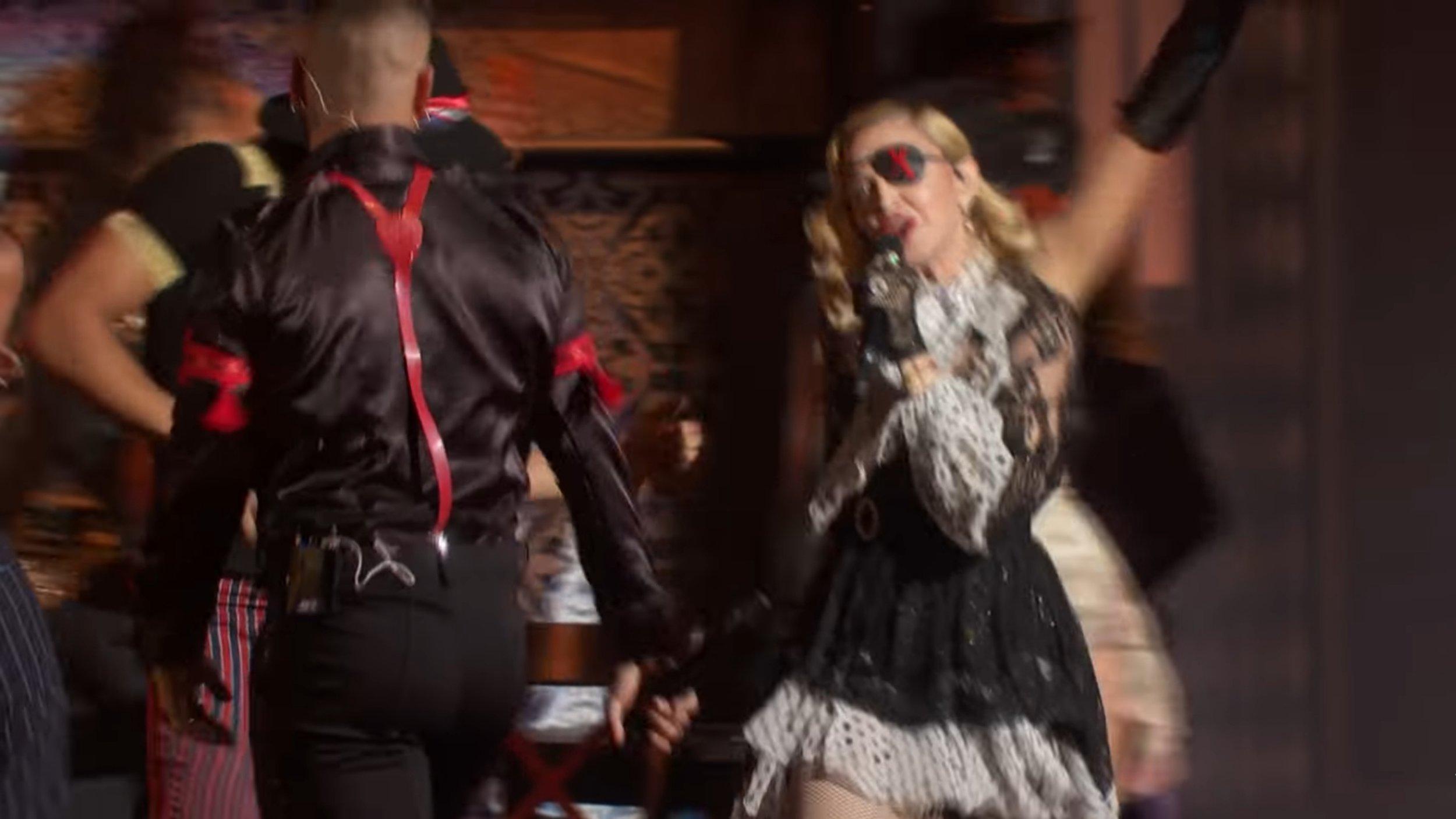Courtesy of Vevo /Madonna & Maluma performing  'Medellín' .