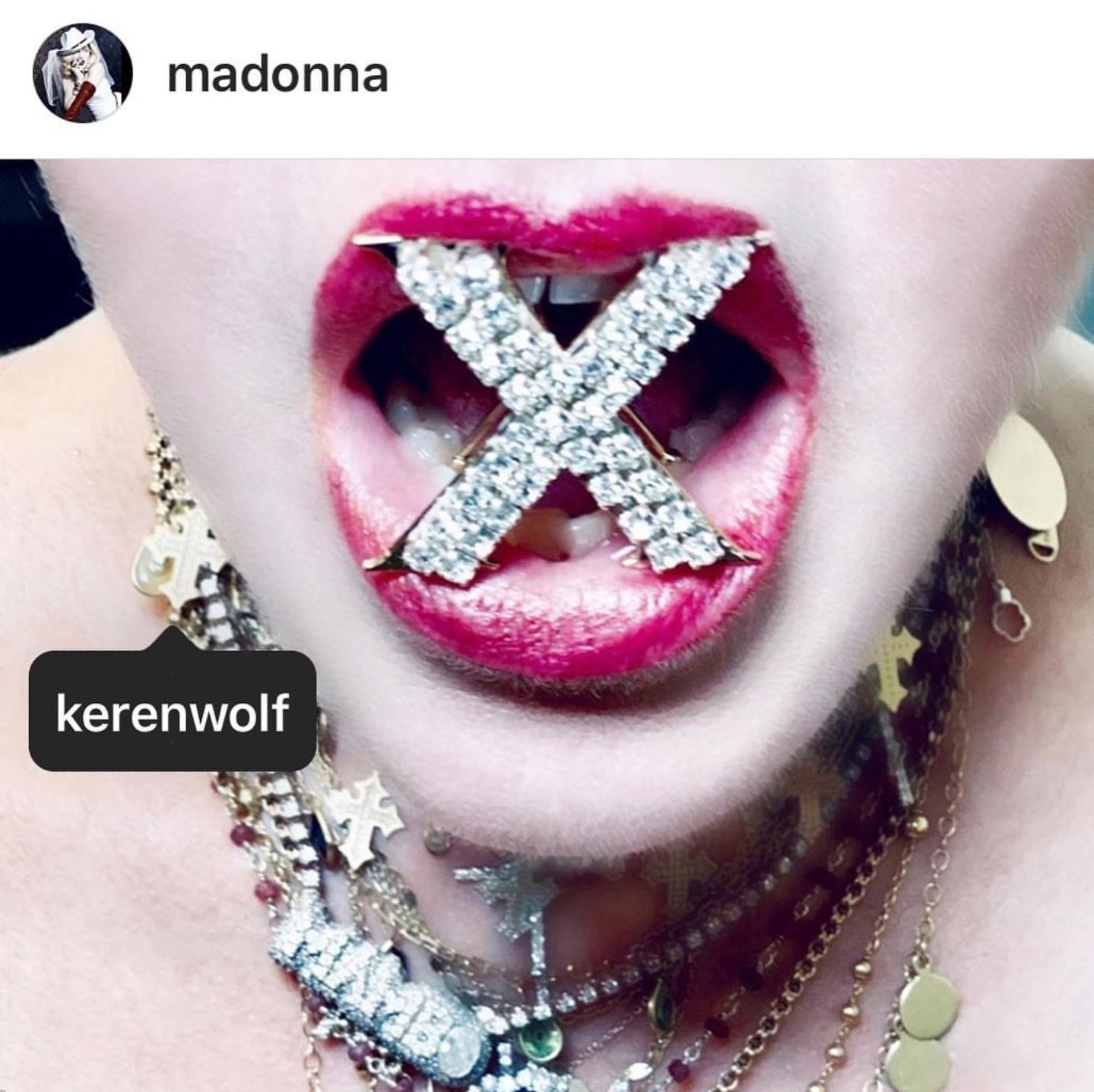 Courtesy of Instagram/  @madonna ,  @KerenWolf   @eyobyohannes