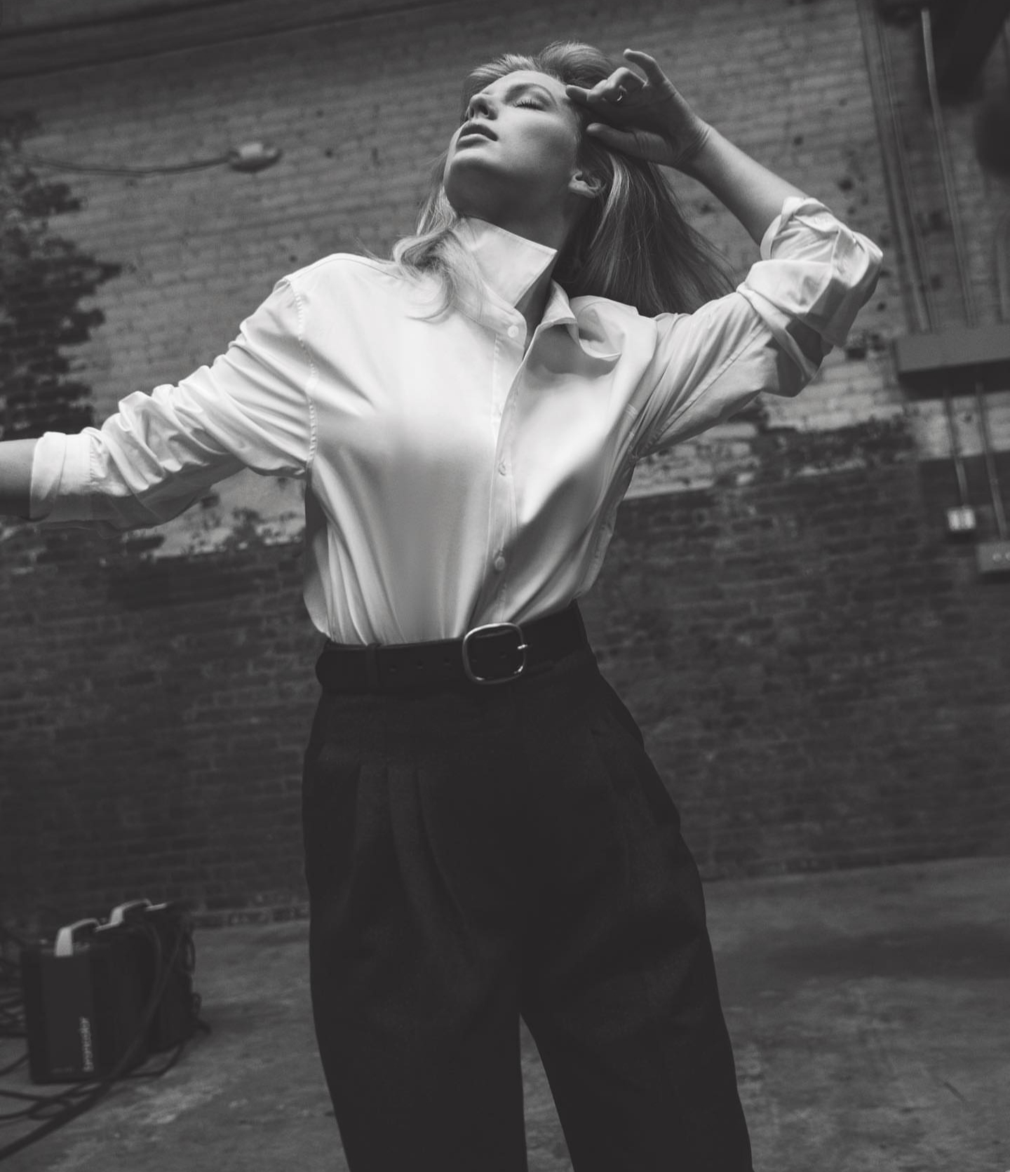 """""""I'd be a fearless leader. I'd be an alpha type."""" Courtesy of Instagram @TaylorSwift / Taylor's Vogue spread. (Photograph: Inez and Vindooh)"""