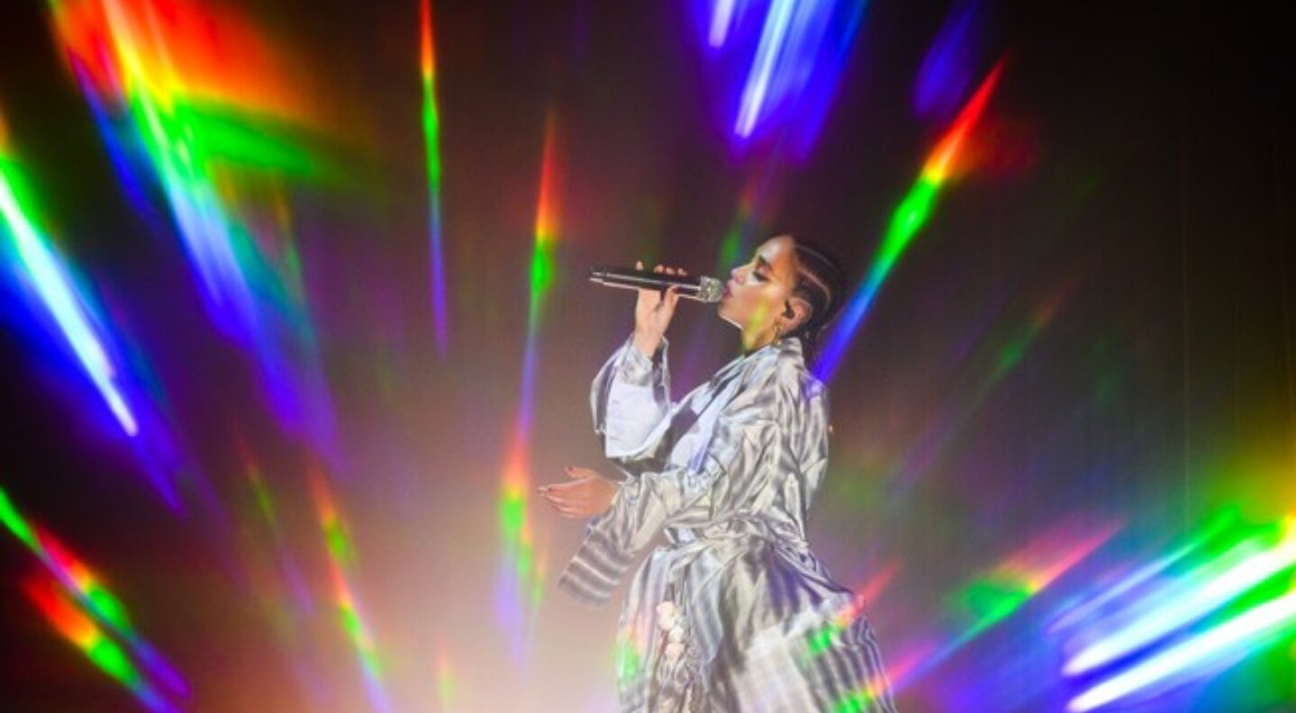 Getty / VIBE FKA Twigs Performing Preparing for Concert & Tour