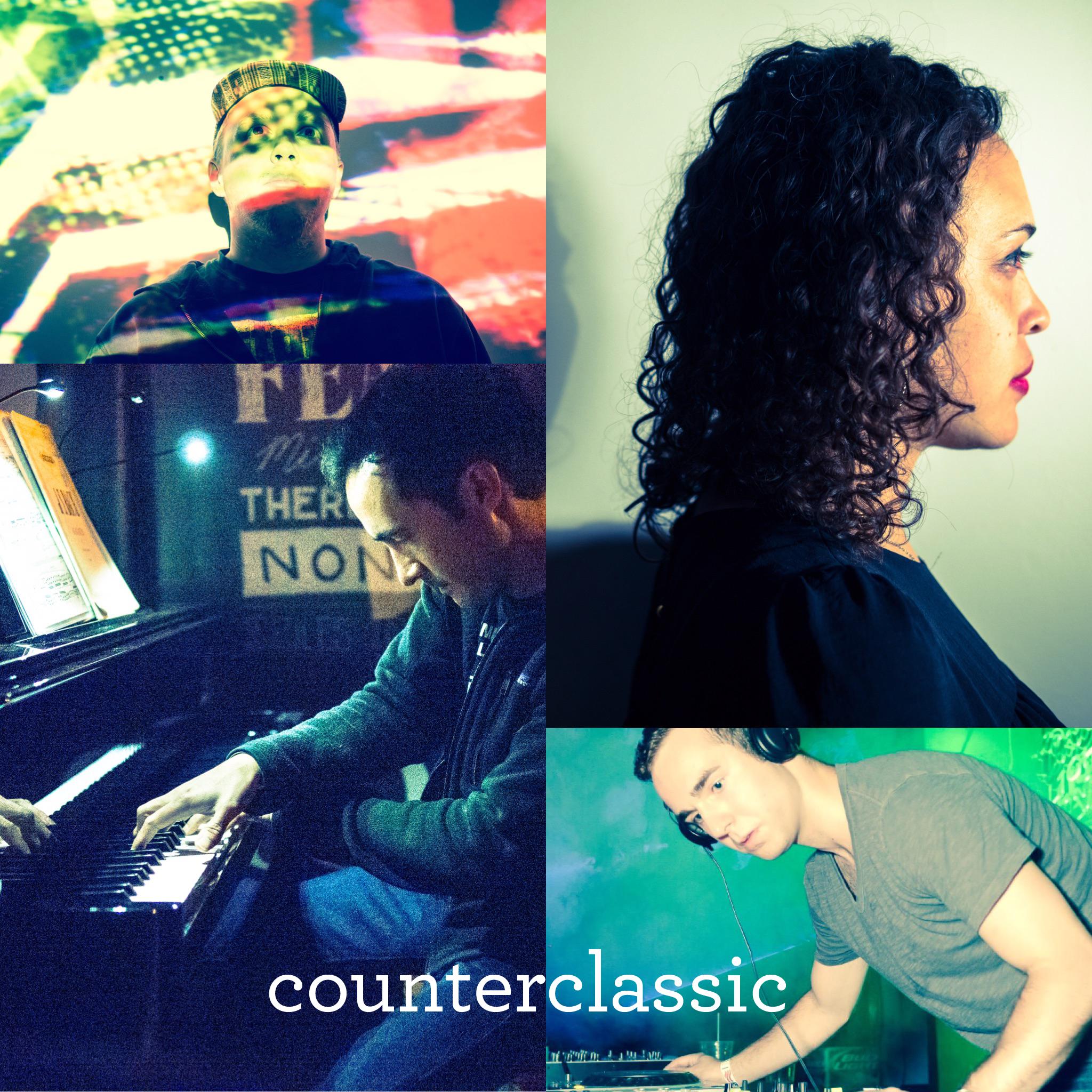 Piano: Christopher Astilla + Flute: Sofia Hailu +  VIsual Artist: Michael Pino + DJ Blinkhorn