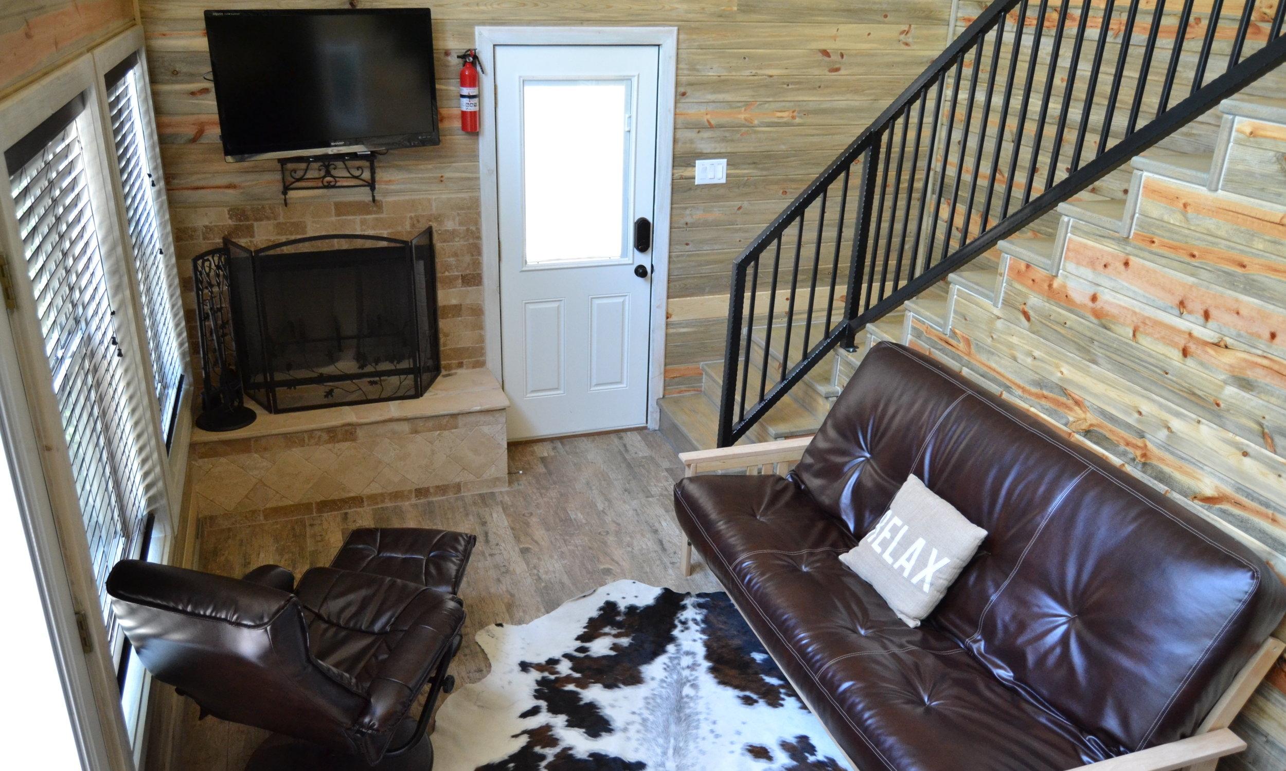 Trinity Cabin - Living Area
