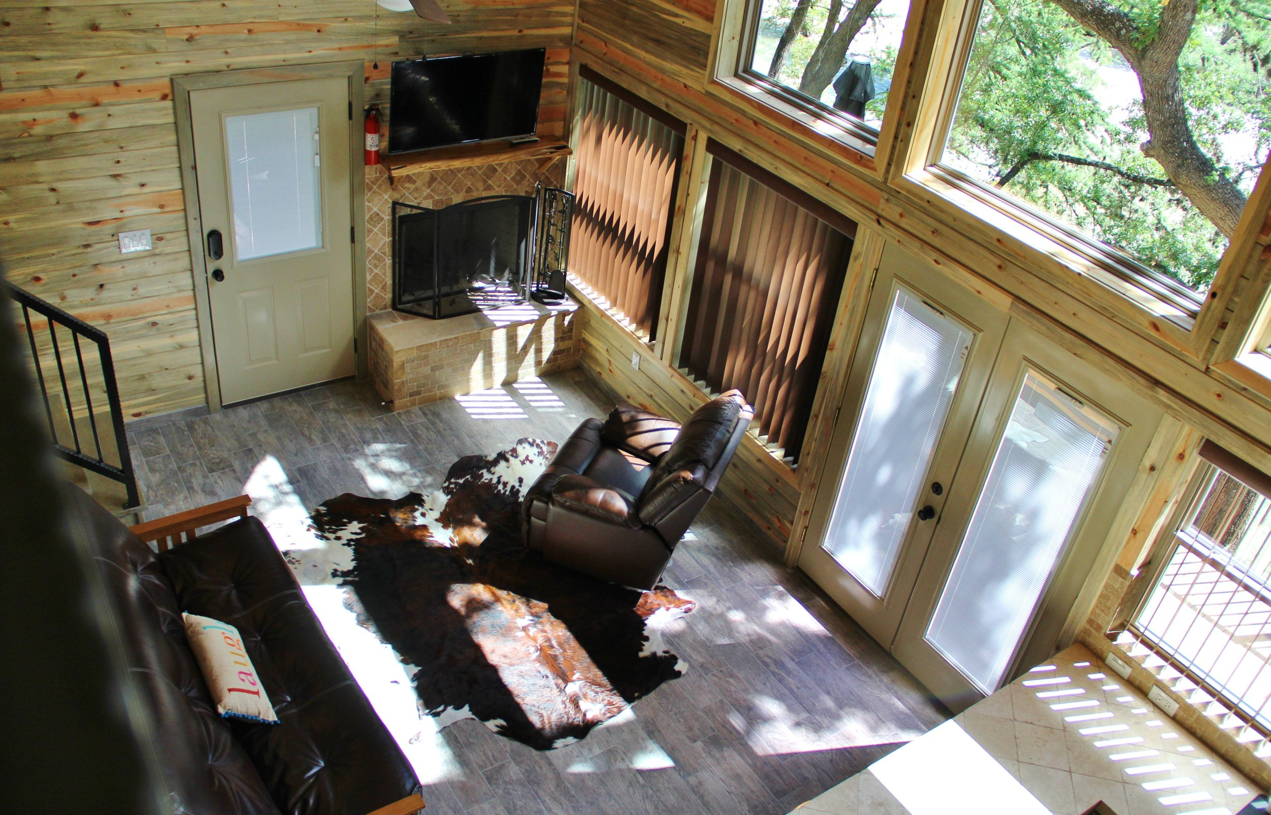 Blanco Cabin - Living Area