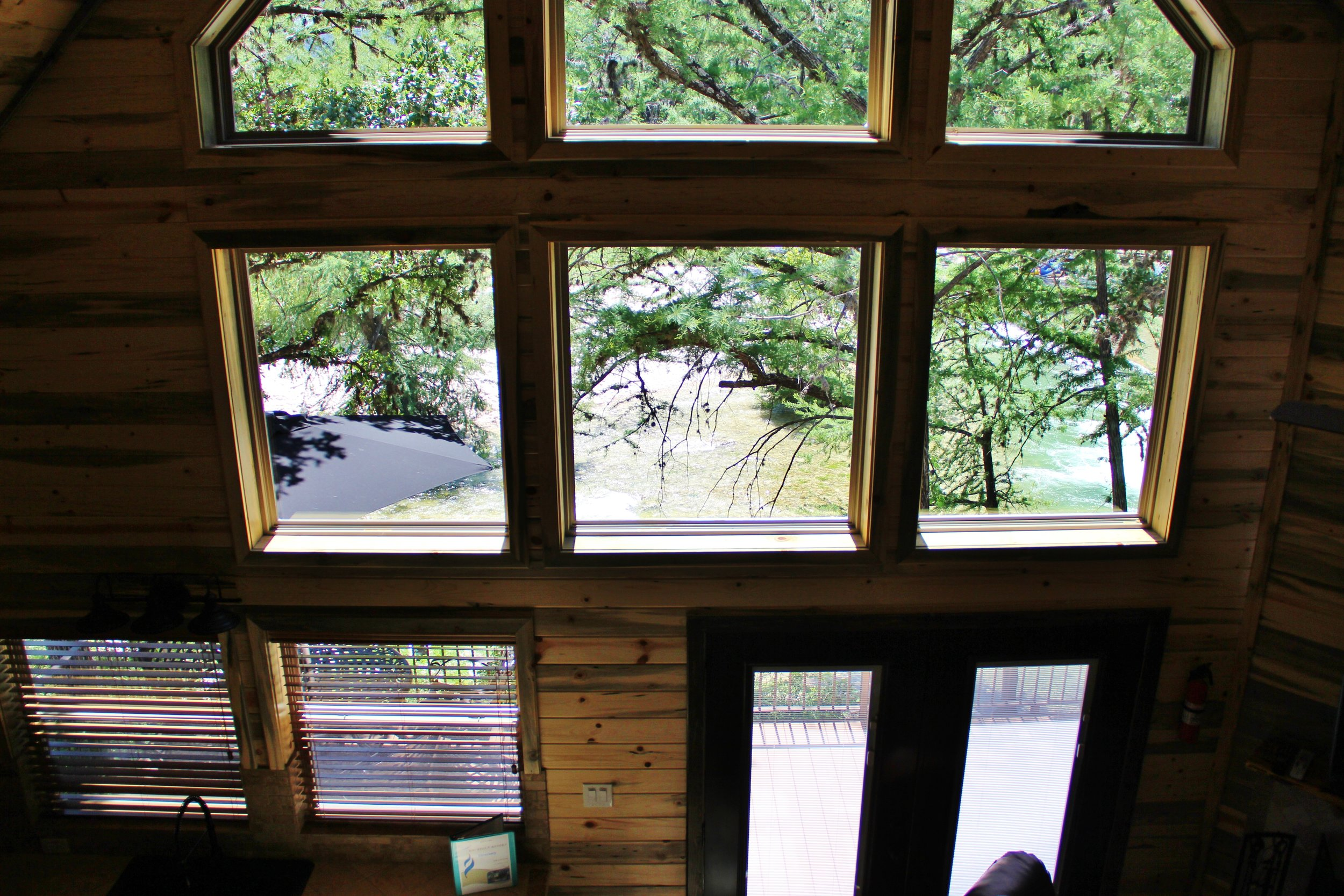 Pecos Cabin - Loft Bedroom View