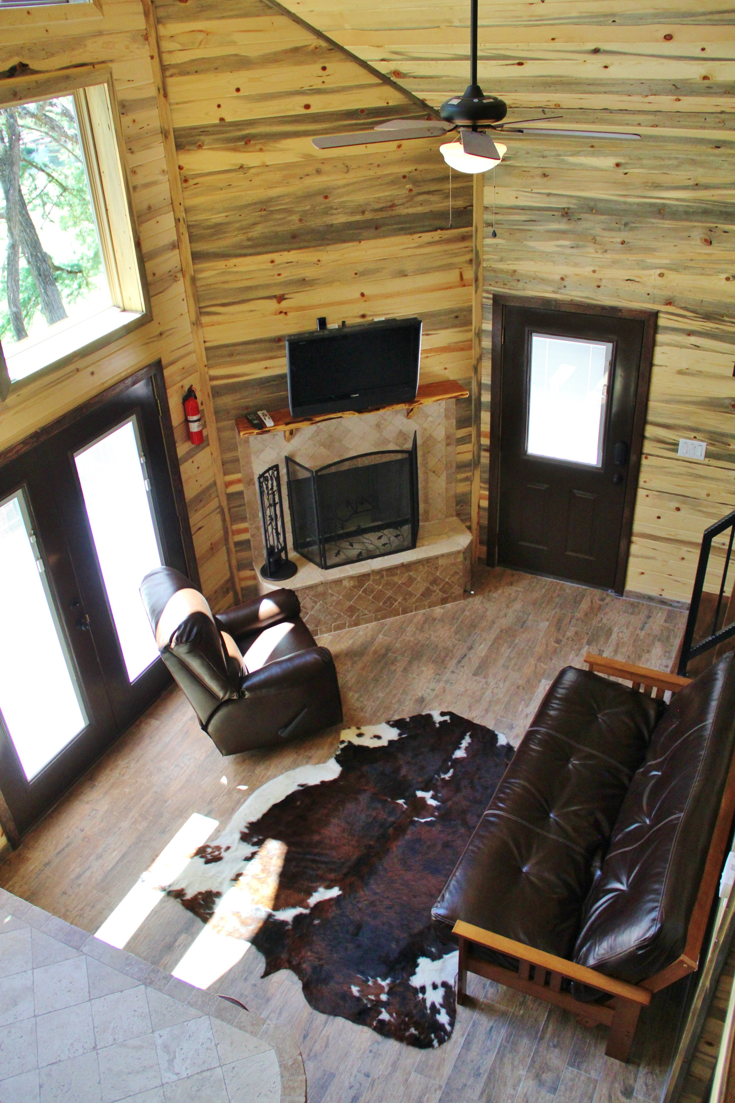 Pecos Cabin - Living Area