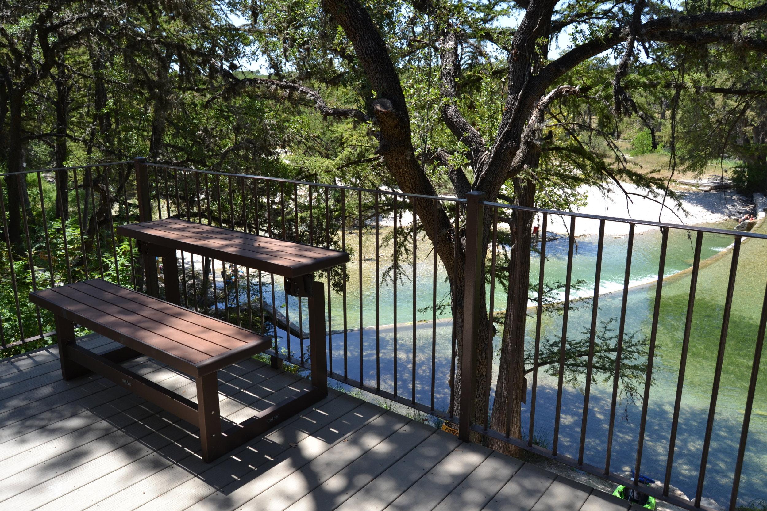 Trinity Cabin - Balcony View