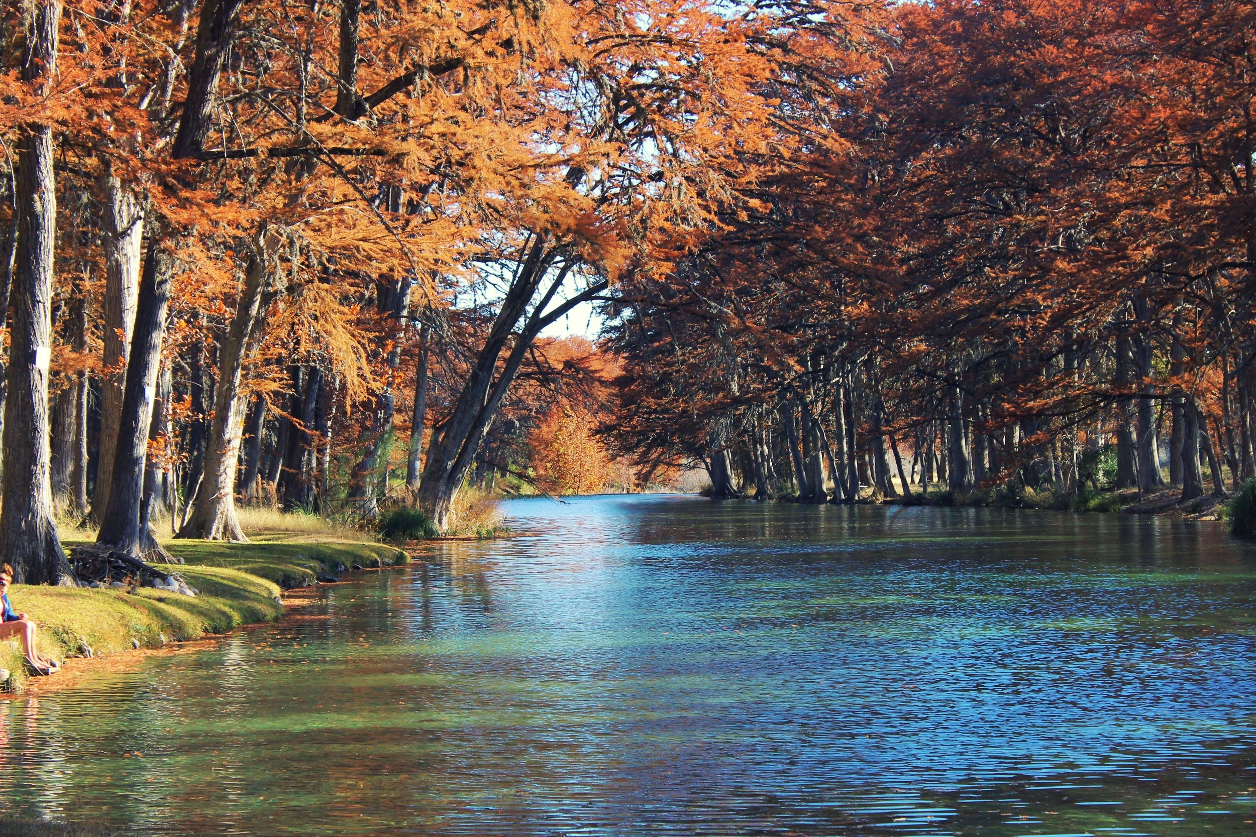Fall on the Frio
