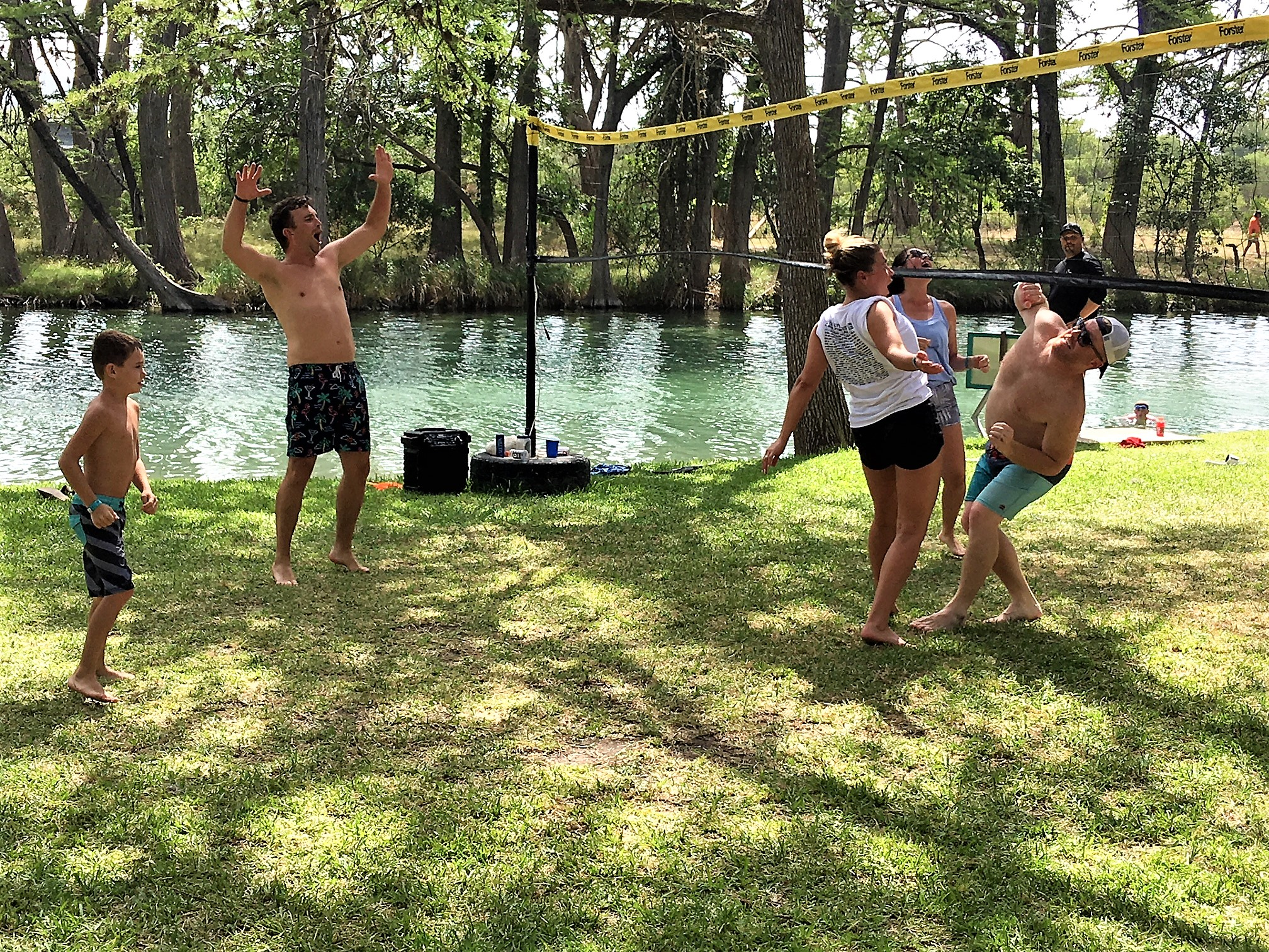 Volleyball on the Frio
